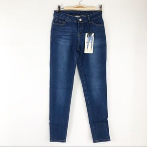 Denim - High Waisted Skinny Jeans Jeggings - S, M or L